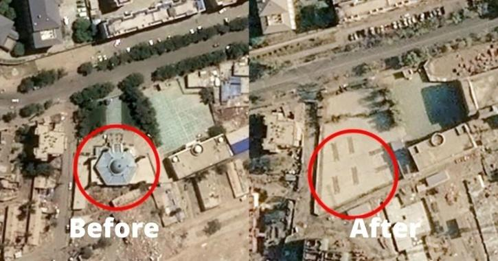 Mosque demolished in China