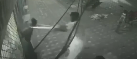 friend rescues man from electrocution