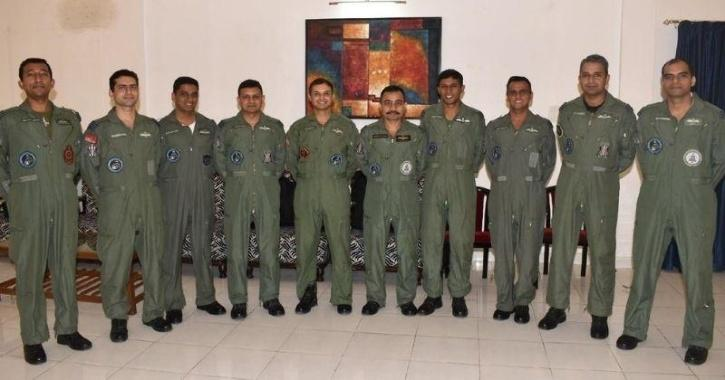 Astronauts for Gaganyaan