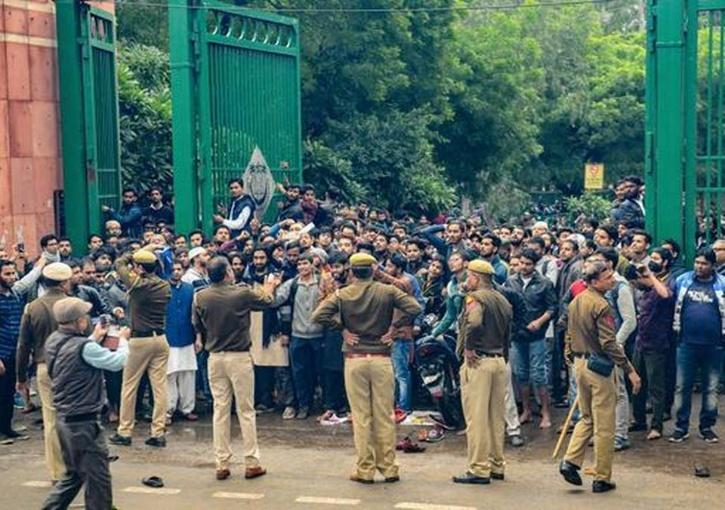 Protests in Jamia