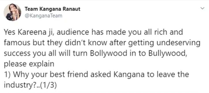 Kangana Ranaut Team