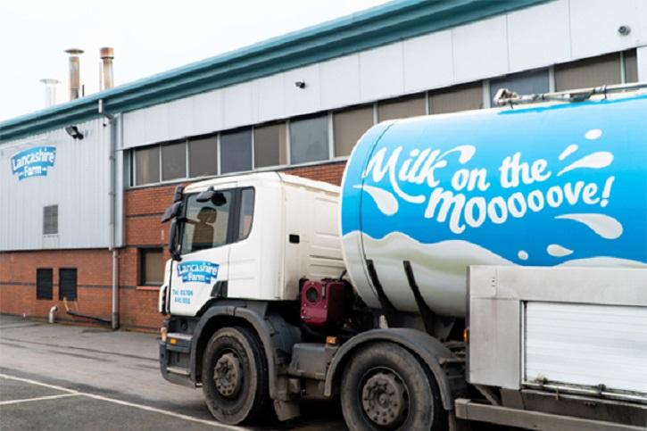 Lancashire dairy farms