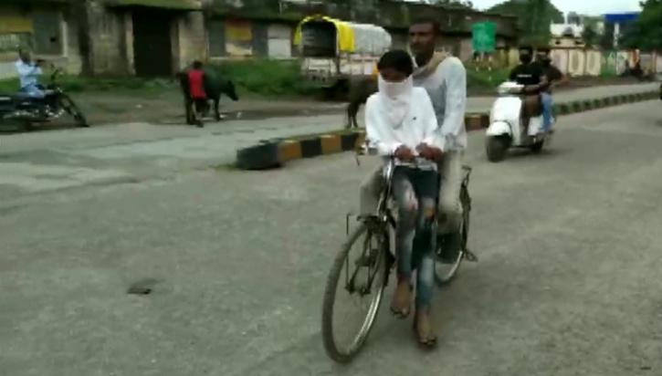 MP man pedals bicycle for 105 km to take son to exam centre