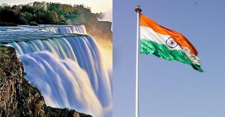 Indian National Flag To Be Hoisted At Niagara Falls In Canada