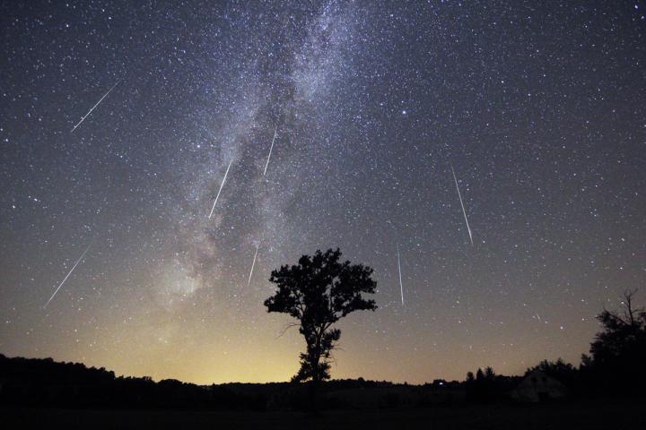 August Perseid meteor shower