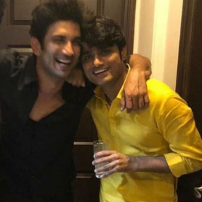 Sushant Singh Rajput and Sandeep Ssingh / Sandeep Ssingh Instagram
