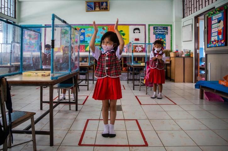thailand schools social distancing
