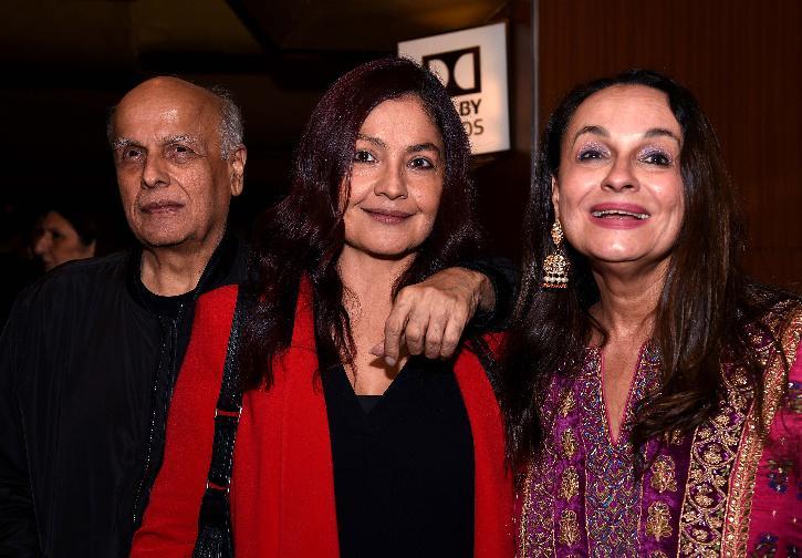 Pooja Bhatt and Mahesh Bhatt.