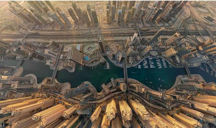 Dubai Marina Before & After