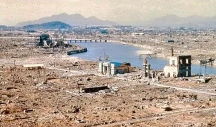 Hiroshima Before & After