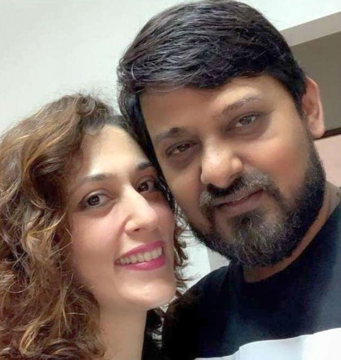 Kamalrukh Khan, wife of late music composer Wajid Khan / Instagram