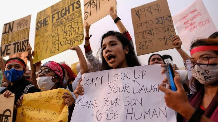 rape protests