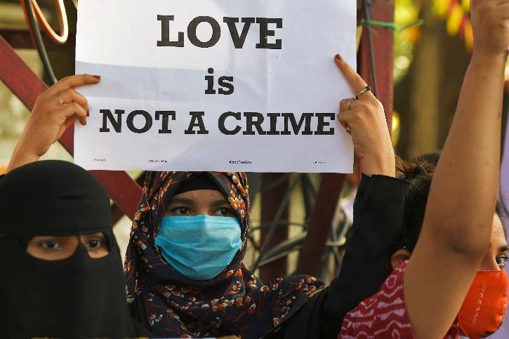 UP Love Jihad Law Muslim Man, UP Love Jihad Law Hindu Woman, UP Love Jihad Law Arrest,  UP Love Jihad Law Punishment