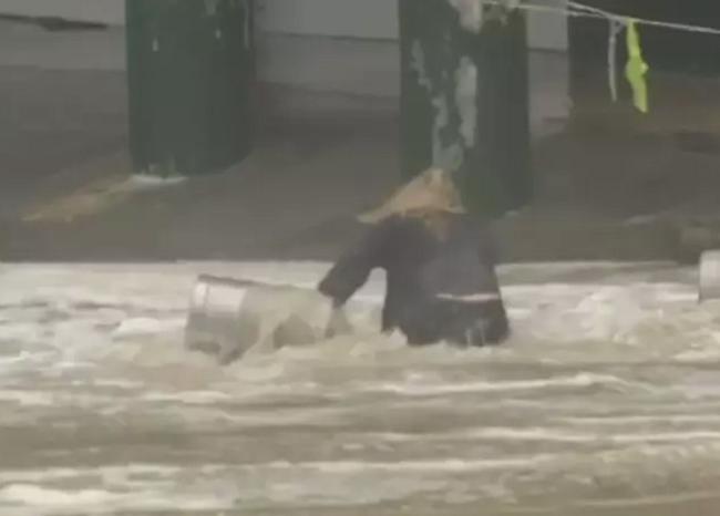 Woman saves beer