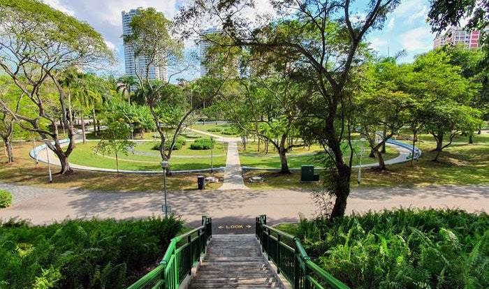 Bishan Park Before & After