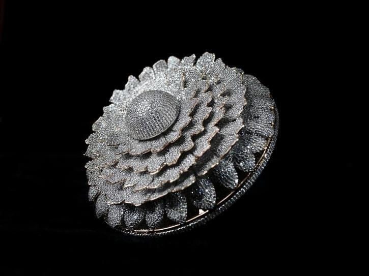 Harshit Bansal, Harshit Bansal Meerut, Harshit Bansal Jeweller, Harshit Bansal Ring, Marigold Ring, Diamond Ring World Record