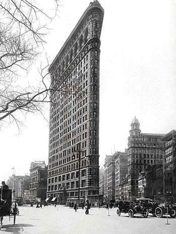 The Flatiron Building Before & After