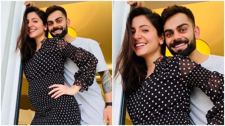 Anushka Sharma and Virat Kohli / Anushka Sharma Instagram