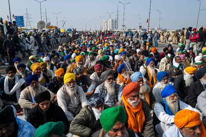 UP Farmers, UP Farmers Protest, Farmers Protest, Bharatiya Kisan Union, Ghazipur Border