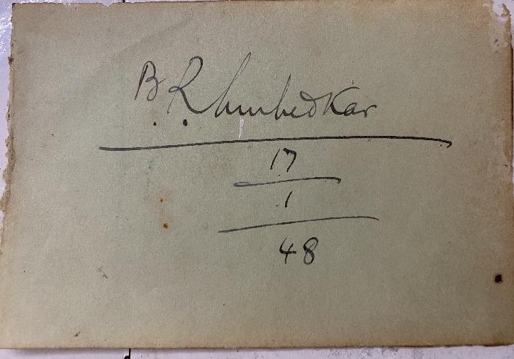 Man finds old autograph book