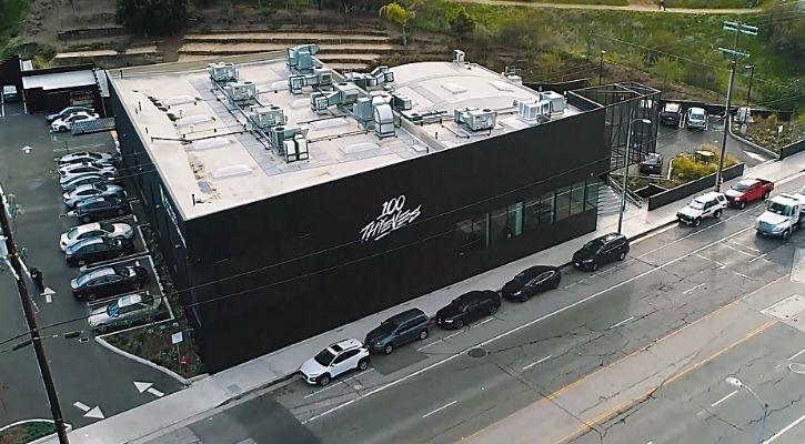 100 thieves game compound