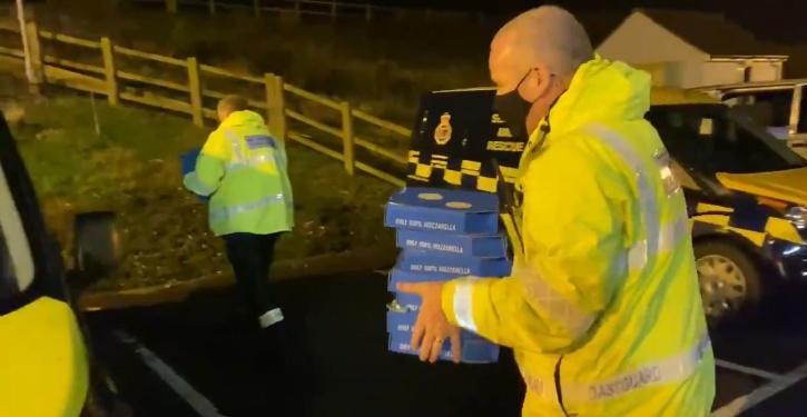 Khalsa Aid, Khalsa Aid UK, Khalsa Aid UK Border, Khalsa Aid Pizza, Khalsa Aid Langar