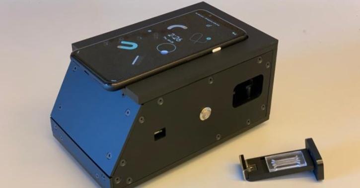 COVID-19 test smartphone