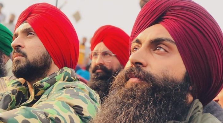 Diljit Dosanjh at Farmers Protest / Agencies
