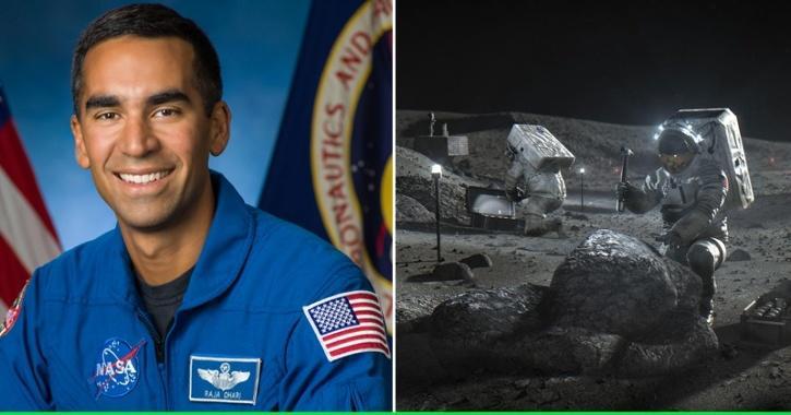 Indian-American Raja Chari Selected In NASA