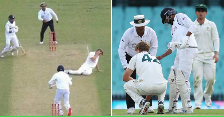 Australian Media Praises Siraj For His Gesture To Attend To Injured Green