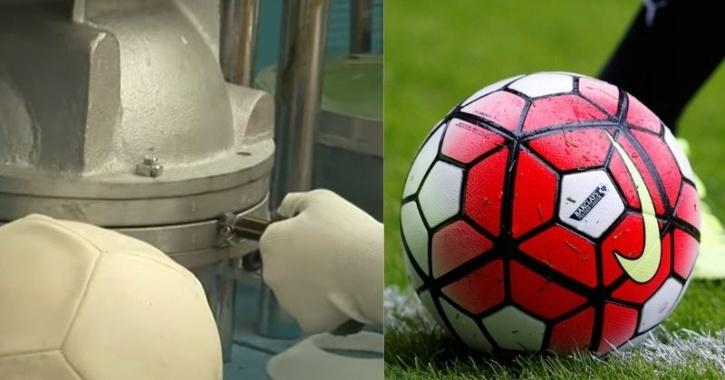 how football is made