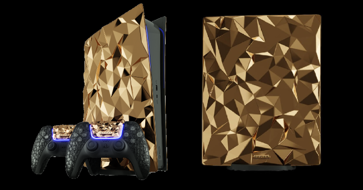 Now A Sony PlayStation 5 With 20Kg Of 18-Karat Gold, Crocodile Leather Due For 2021 Launch