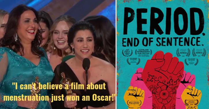 Last year, Guneet Monga won an Oscar for her short film, Period. End of Sentence.