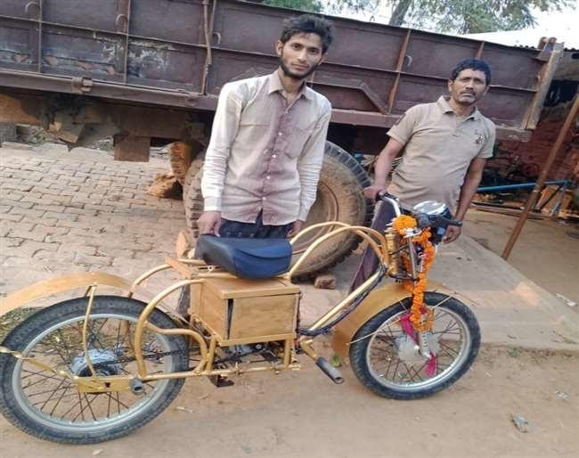 Neeraj Maurya battery motorcycle