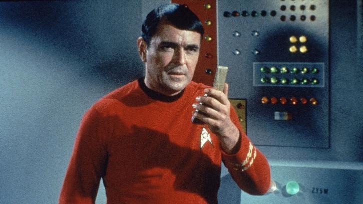 Star Trek actor James Doohan.