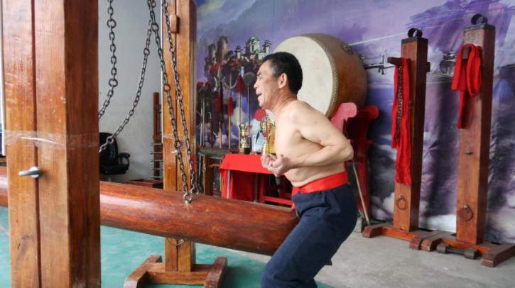 Wang Liutai is no ordinary kung fu master. The 65-year-old from a village in central China practises a unique and excruciating-looking strand of martial arts coined