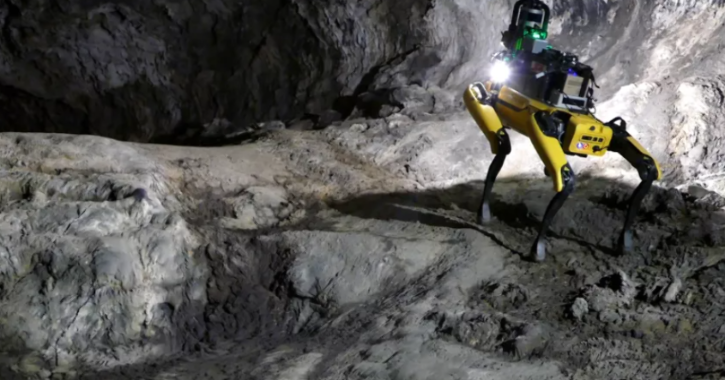 Forget Rovers; NASA Plans To Send Robot Dogs To Explore Mars Caves