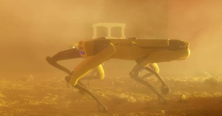 Spot robot dog by Boston Dynamics