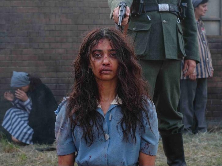 Radhika Apte as Noor Inayat Khan in A Call To Spy.