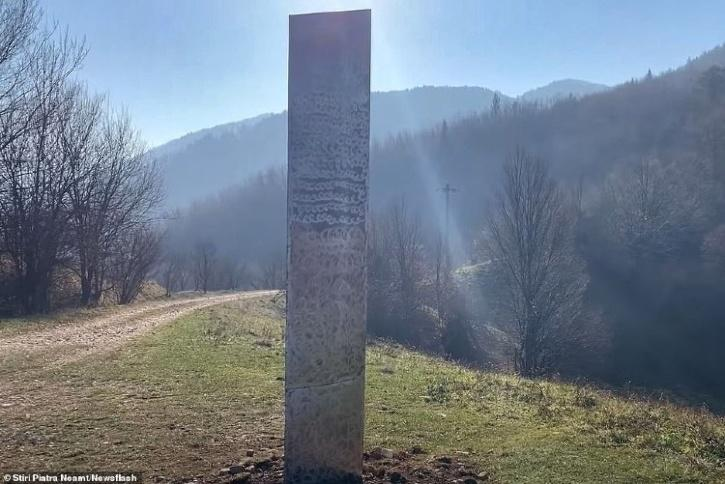 Mysterious Monolith Now Appears In Romania, After It ...