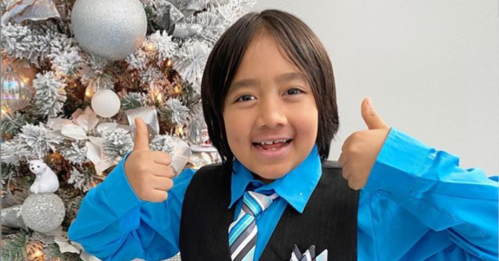 Nine-year-old Becomes Top Earning YouTuber For Third Time In A Row, Making A Cool $29.5m In 2020