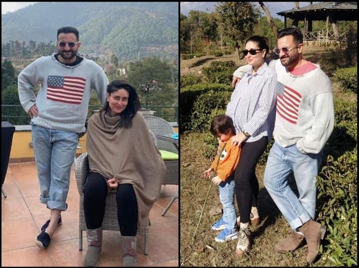 Saif ali khan and family