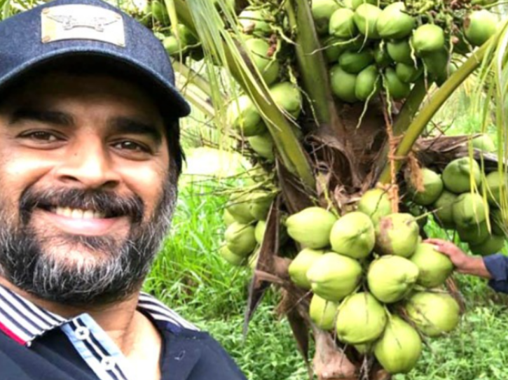 R Madhavan Buys Barren Land With His Cousin Brother, Turns It Into Lush Green Coconut Farm