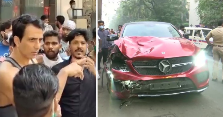 Sonu Sood Helps The Family Of 19-YO Delivery Boy Who Died After Being Hit By Speeding Mercedes