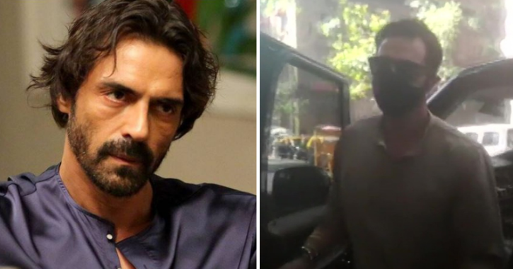 Arjun Rampal Questioned Yet Again In The Drugs Case, Reaches NCB Office In Mumbai