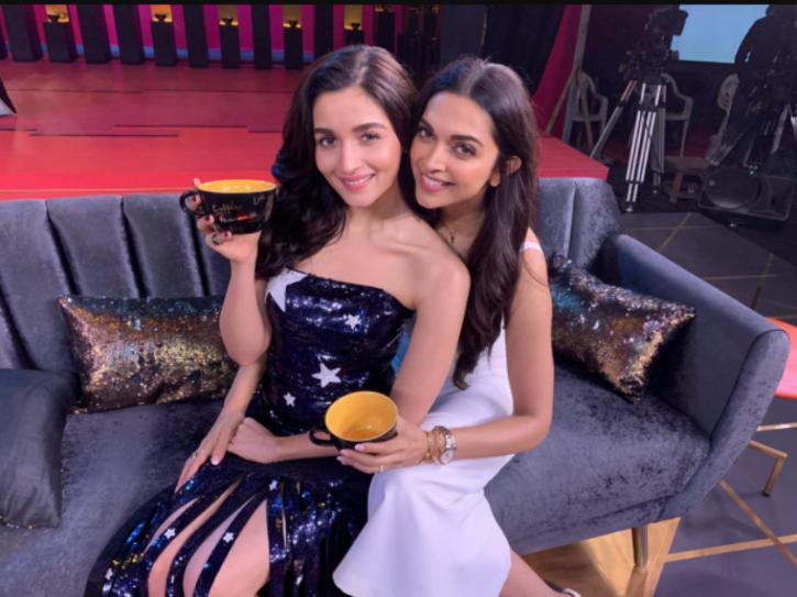Alia and Deepika on Koffee with karan.