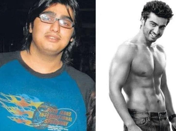 Arjun Kapoor: Before and After / Indiatimes