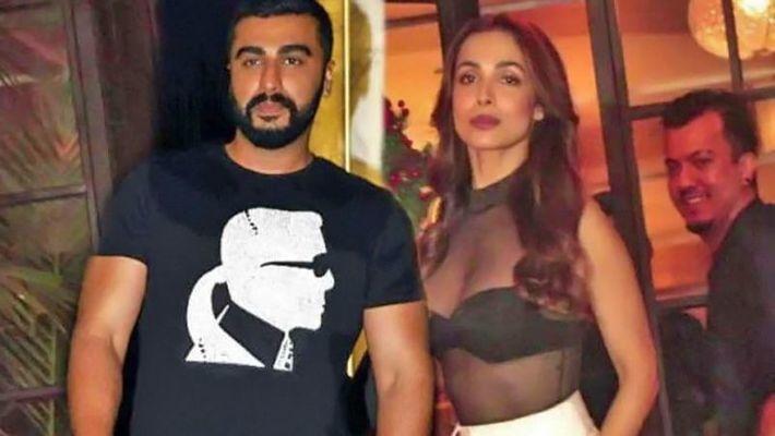 Arjun Kapoor and Malaika Arora / Twitter