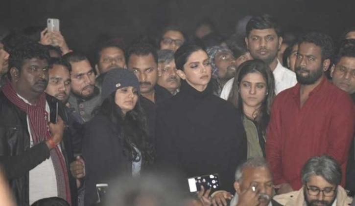 Deepika Padukone at JNU / BCCL