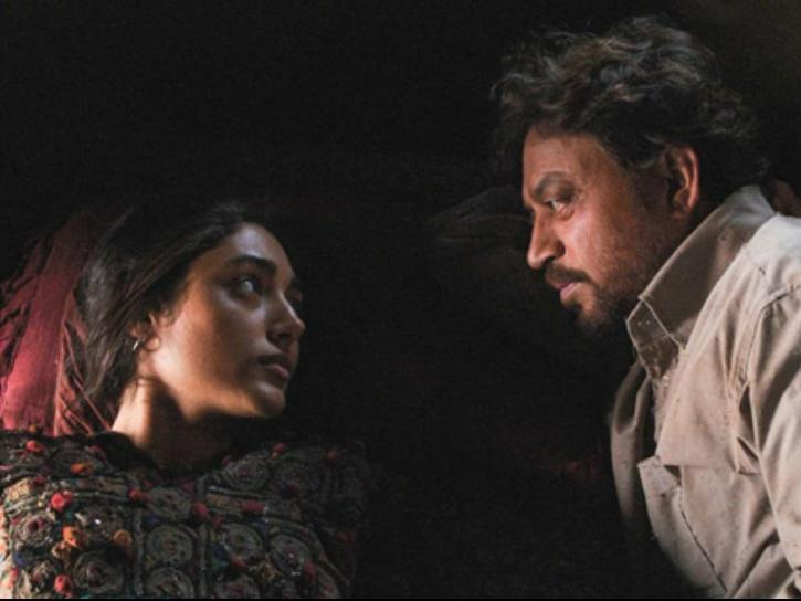 Irrfan Khan and Golshifteh Farahani in The Song of Scorpions.
